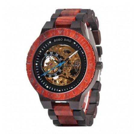 Мужские деревянные часы BOBO BIRD модель W-R05