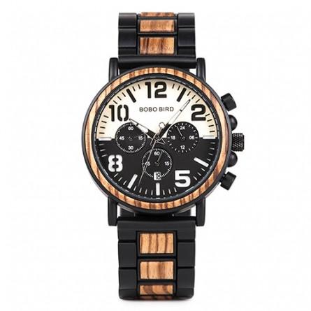 Мужские деревянные часы BOBO BIRD модель W-R25-1