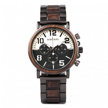 Мужские деревянные часы BOBO BIRD модель W-R25-2