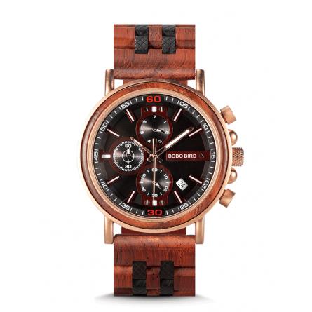 Мужские деревянные часы BOBO BIRD модель W-S18-5