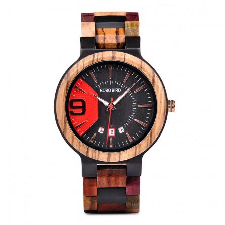 Мужские деревянные часы BOBO BIRD модель W-Q26-2