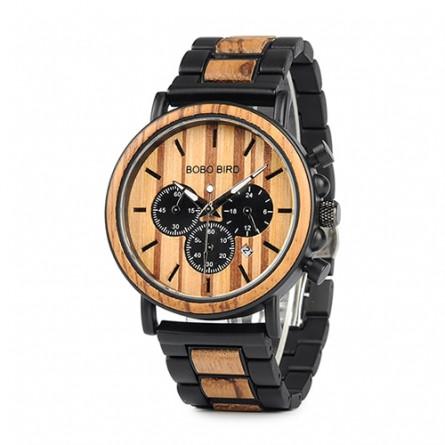 Мужские деревянные часы BOBO BIRD модель W-P09-1