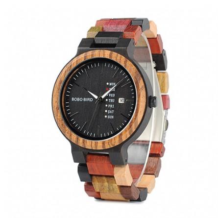 Мужские деревянные часы BOBO BIRD модель W-P14-1