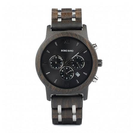 Мужские деревянные часы BOBO BIRD модель W-P19-1