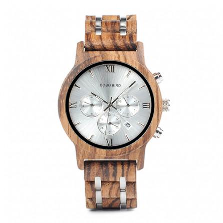 Мужские деревянные часы BOBO BIRD модель W-P19-2