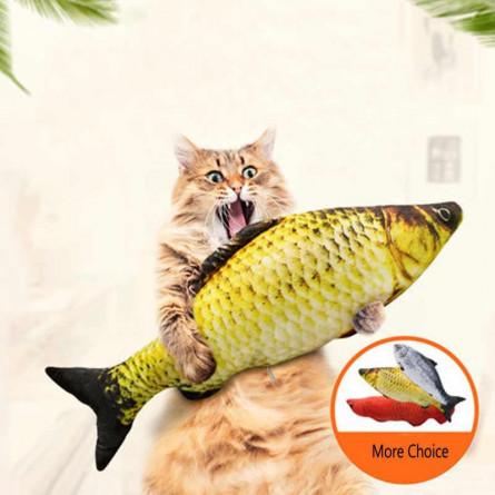 Мягкая игрушка-антистресс для кошек Карась
